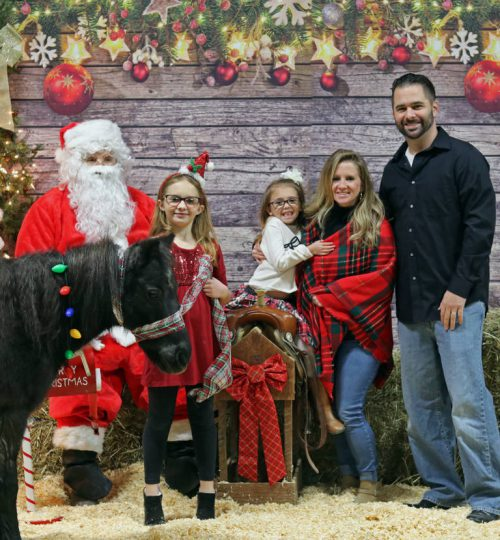Photos with Santa - Presto Family